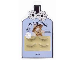 Brand New Auth Dolly Wink False Eyelashes #24 Natural Baby