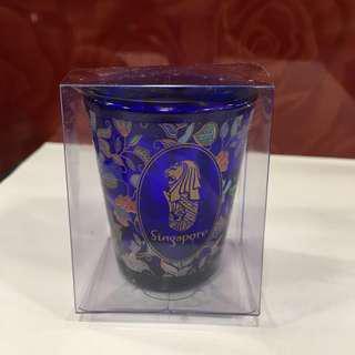 Singapore Merlion Mini Display Glass