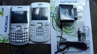 auth nokia c3 with charger on sale!