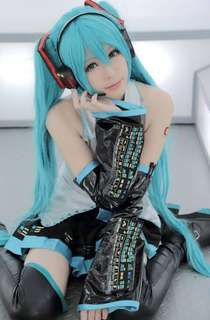 Vocaloid Miku Hatsune Cosplay Costume Set