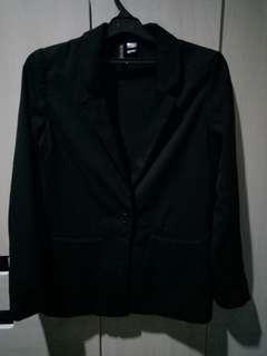 Oversized casual blazer