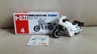 Tomica車仔 4 Honda鐵騎