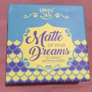 Happy Skin Matte of Your Dreams Oil Control Mattifying Powder in Translucent (white)