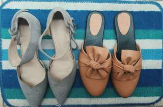 💥💥 BOOM SALE korean heels & slop shoes 50k/item