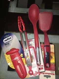 Four-piece kitchen cookware bundle