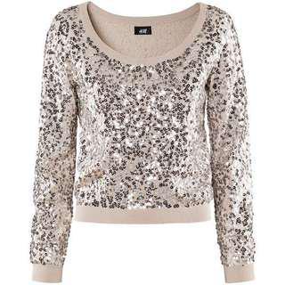 🚚 H&M Sequin Sweater