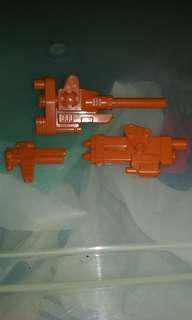 G1 transformers afterburnner weapons