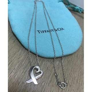 原價$1480 Tiffany Paloma Picasso Loving Heart Necklace鍊墜