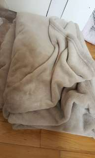 Fleece queen sized blanket