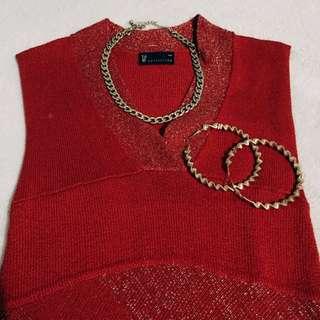 Vintage Red Salsa Dress