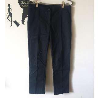 iROO黑色西裝長褲