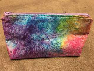 Handmade makeup bag