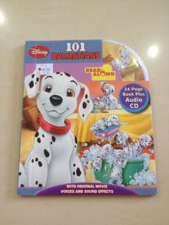 Disney 101Dalmatians Audio CD Book