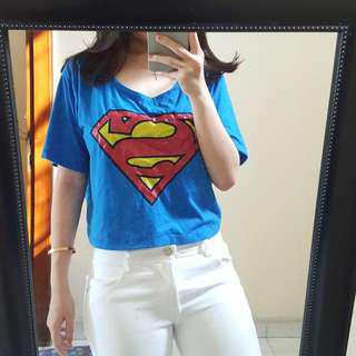 Superman Crop Tank