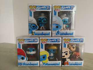 Funko PoP - Smurfs (Set of 5)