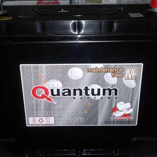 Brand New Quantum Car Batteries