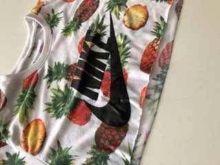 Nike pineapple crop top