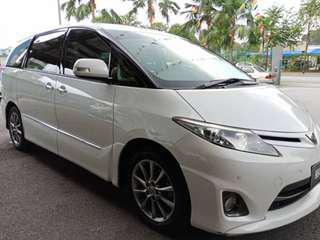 Toyota estima open for rent (20 anniversary limited edition)