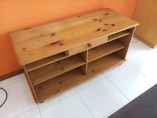 TV console/Table top with shelves and drawer