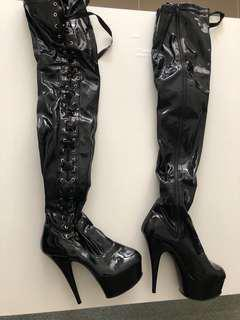 Pole dance shoes