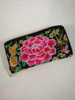 [BN] Chinese Embroidered Long Purse