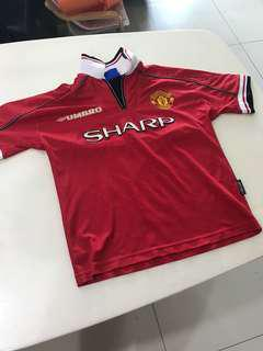 98/99 Original Manchester United Jersey
