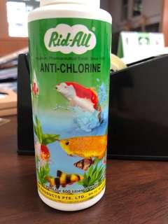 Rid-All anti chlorine liquid