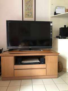 TV Cabinet (solid wood & specially made)