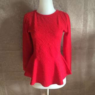 Red top flare