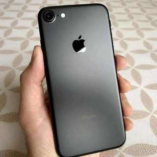 IPHONE 7 Matte Black ORI