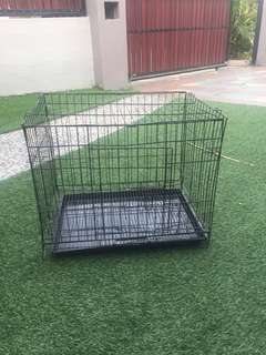 Single storey cat cage