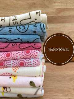 Cute Microfiber Hand Towel