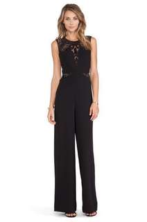 dddfd068f56 BN BCBG Laden Blocked Sleeveless Jumpsuit