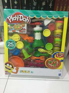 Playdoh set Pizza 25 piece & 5 bottles box set