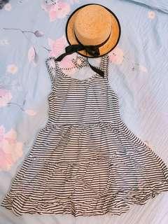 H&M 線條洋裝