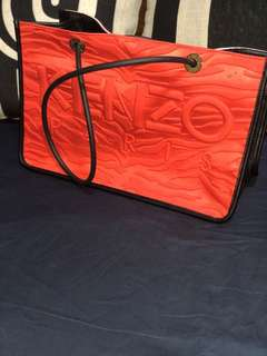 New Kenzo 2-color handbag red/pink