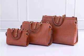 🚚 Dresseum 復古真皮手提包 中型&小型 相似版
