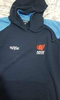 NSW Blue Hooded Jumper