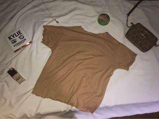 Knitted Ruffle Shirt