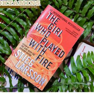 The Girl Who Played with Fire - Millenium Series #2 by Steig Larsson