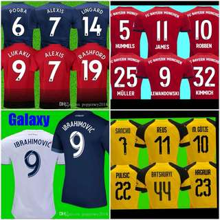 Jersi Grade AAA Player Issue Free Nameset ori 173d6c1b5