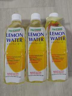 C1000 LEMON WATER 500ML - 3 BOTTLES FOR $1 ONLY!!!