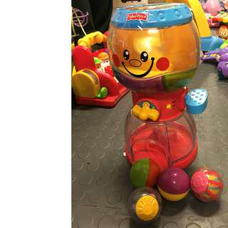 Fisher price roll a round swirlin surprise gumball