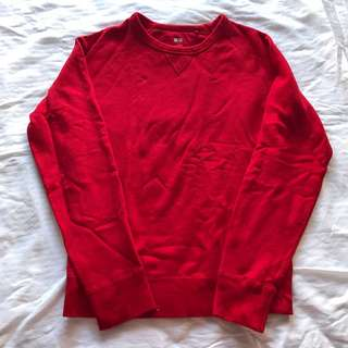 Uniqlo Red Sweater