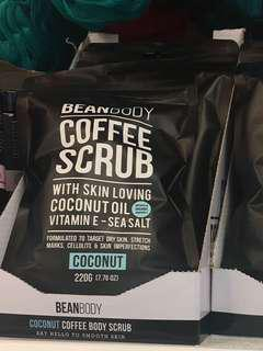 🇦🇺澳洲代购 BEANBODY COFFEE SCRUB COCONUT