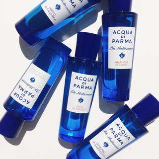 Acqua di Parma 藍色地中海淡香水