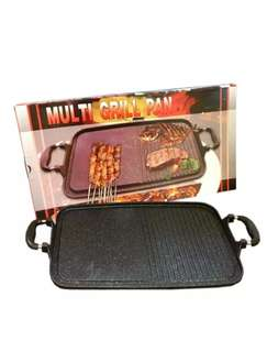 alat panggangan serbaguna grill pan murah tanpa arang