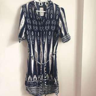 Zara Inspired Tribal Dress