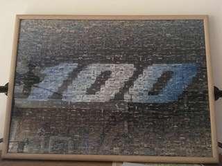 Boeing 1000 puzzle pieces 砌圖