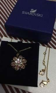 Authentic Swarovski Disney Elements Cinderella necklace and pendant